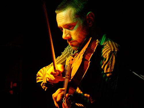 Jason Bunn on viola