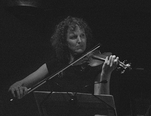 Andrea Keeble on violin