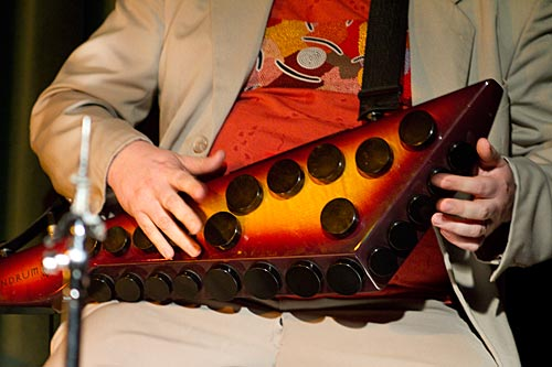 Adrian Sherriff on Zendrum percussion controller