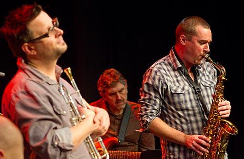 Eugene Ball, Geoff Hughes, Phil Noy