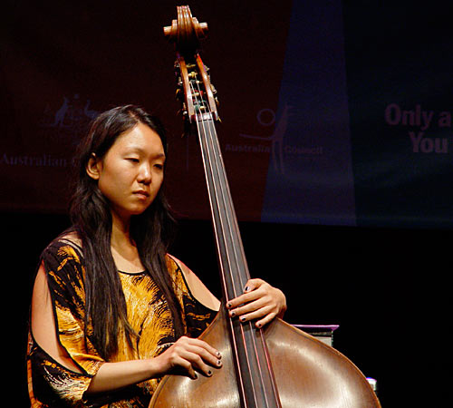 Linda Oh at Wangaratta Festival of Jazz 2009