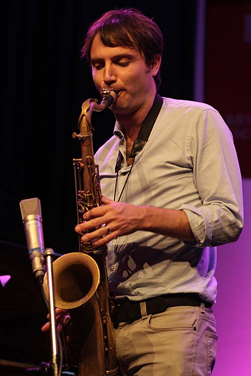 On tenor sax: Sam Sadigursky