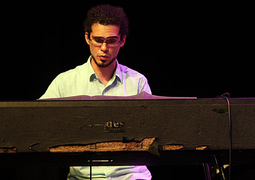 On keyboards: Fabian Almazan