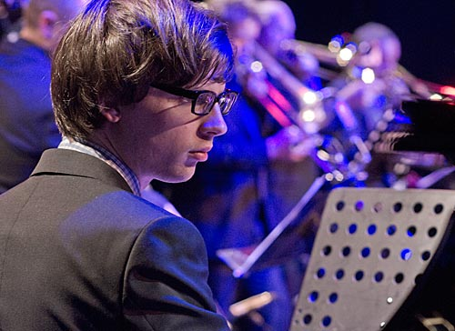 Pianist with Tim Davies Big Band