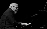 Paul Grabowsky at Wangaratta 2012 in a quartet with Bernie McGann