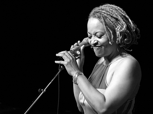 Cassandra Wilson in concert. Picture by Scott Penner, Canada