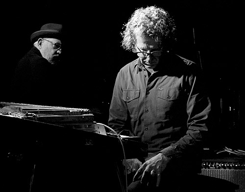Paul Grabowsky and Alister Spence