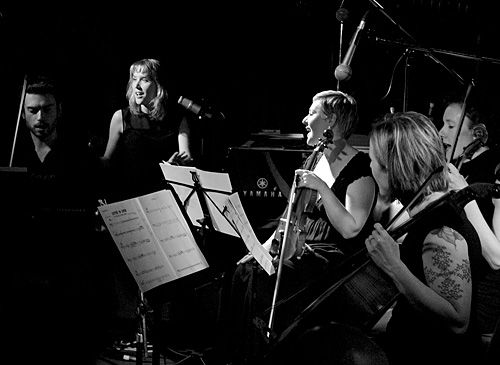 Sarah McKenzie and Silo String Quartet