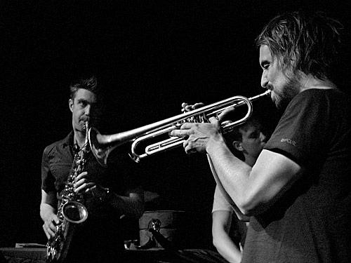 Jeremy Rose and Nick Garbett