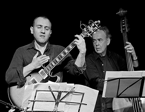 Lucas Michailidis and Howard Cairns