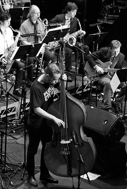 Peter Eldh and members of Monash Art Ensemble