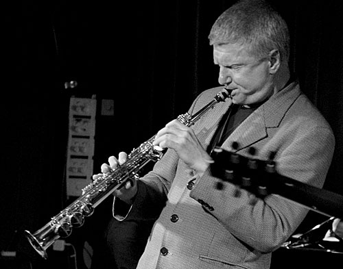 Saxophonist Andy Sugg