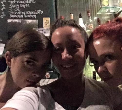 Sarah, Arlz and Hannah