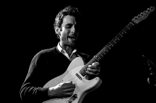 Julian Lage with his trio at Bennetts Lane