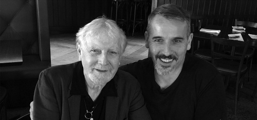 Dr Tony Gould and the honourable Scott Tinkler