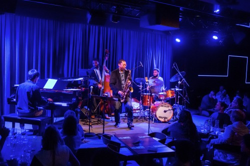 Ravi Coltrane's quartet at Bird's Basement