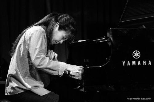 Japanese pianist Satoko Fujii performs in Kira Kira