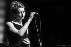 Melanie Taylor, vocals, during the Monash sessions.