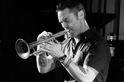 "Paul Williamson leads his quintet to launch ""Finding the Balance""."