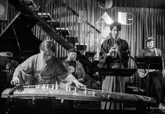 Kuniko Obina, Aaron Choulai, Masaki Nakamura and Marty Holoubek